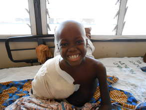Improve cancer care for 150 children in Ghana