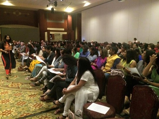 housefull at the Chicago performance
