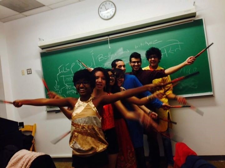 My serious classmates