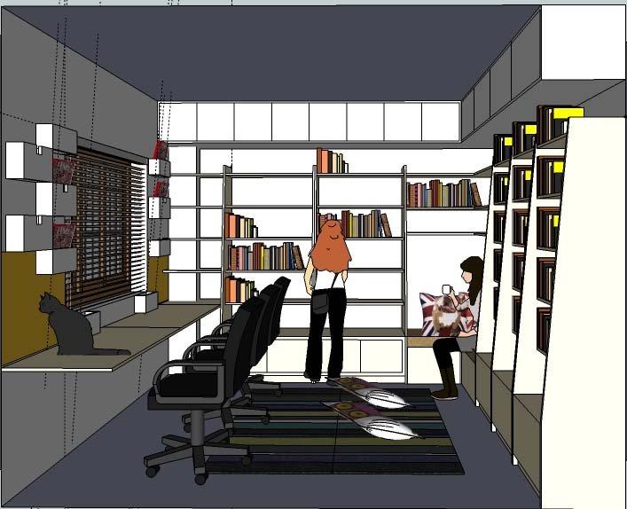 Original library design