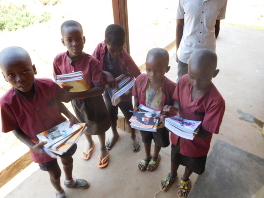 #1: Students received school materials