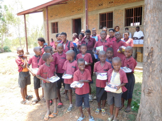 #5: Group of those who received school materials