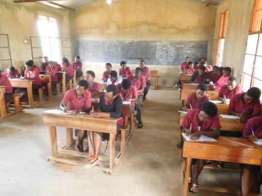 #6: Students of Iwacu Kazoza School in Classroom