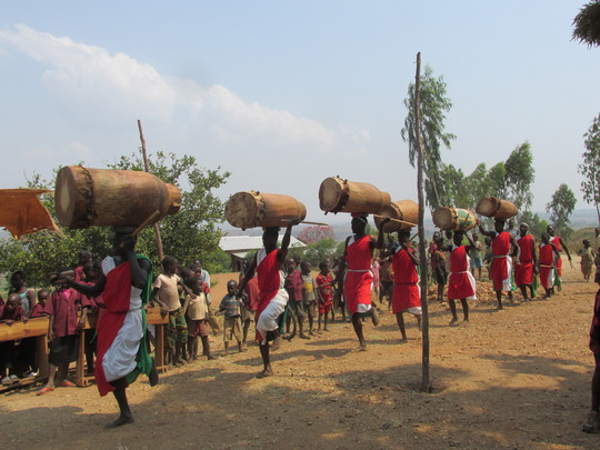 #1. School celebration day_Burundi Drummers