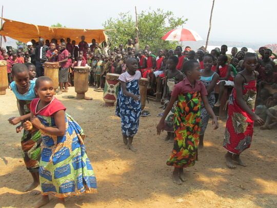 #4. girls dancing  at school celebration day