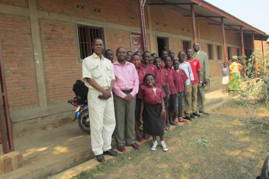 #1 Iwacu Kazoza School Students and teachers