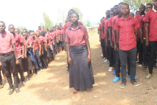 #5: Students of Iwacu Kazoza School