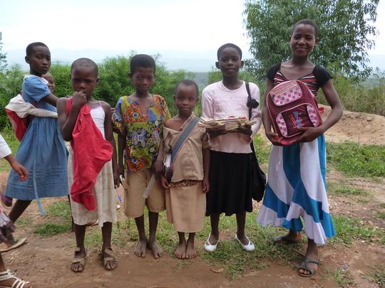 #1. Students of Iwacu Kazoza School from school