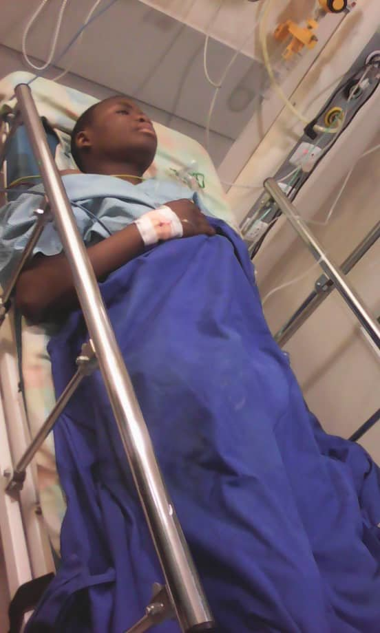 #4: Merci in Chennai Hospitals after his surgery