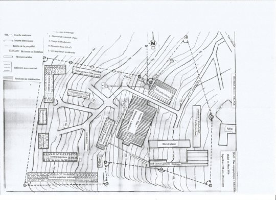 Map of Imuhira Iwacu Village