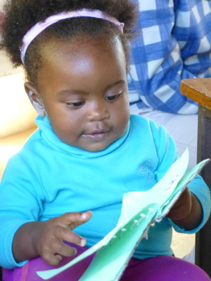 Never too young to learn to love reading