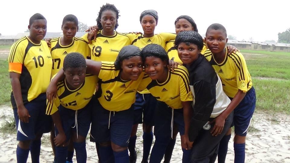 Brescia FC girls team - finalists!