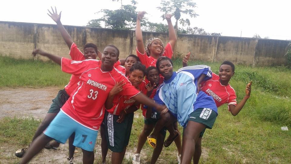 Arsenal girls- Finalists representing Avonworth HS