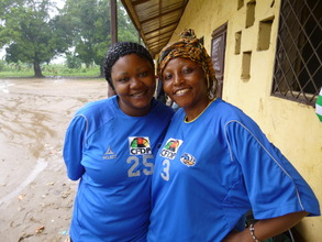 2 women of CFDP who made it happen: Nenne & Caro