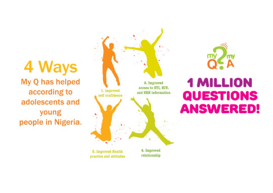 Ways MyQuestion Service has helped young people