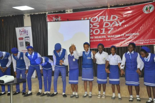 Young People Making a Dance presentation