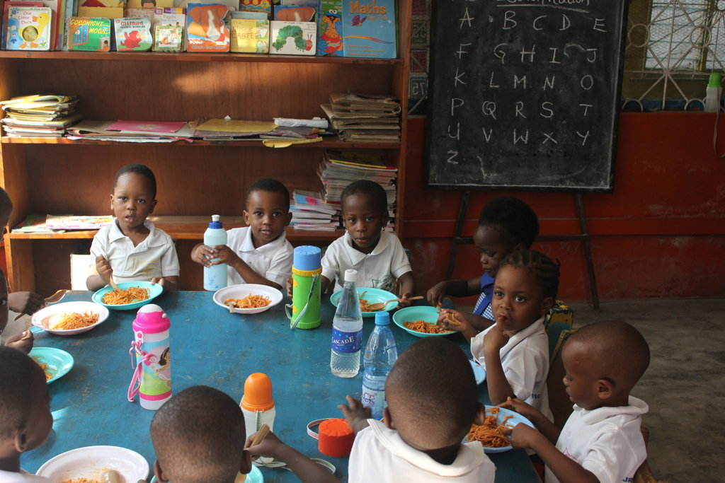 Feed a Hot Lunch to 320 Hungry Children in Nigeria