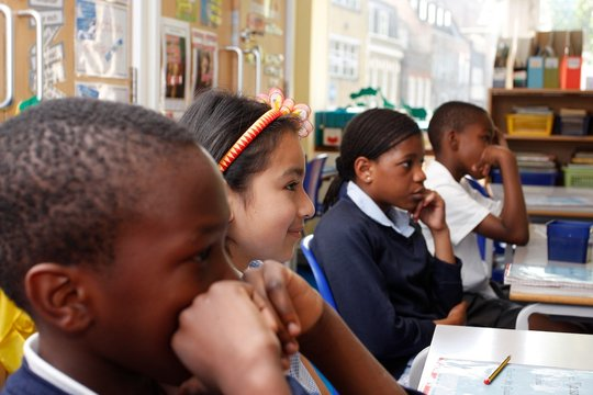 Students at St Monica's