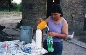 Bottling milk