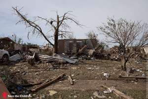 Damage from the Moore, Oklahoma Tornado