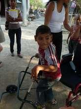 Yelsin, a student at Los Pipitos