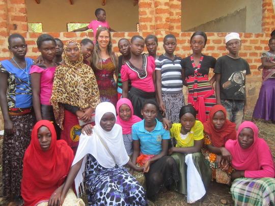 Girls Ed Students in Mgaraganza, Tanzania
