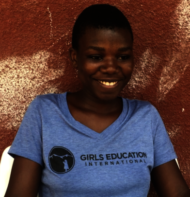 Sarafina - Smiling while discussing High School!