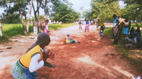 Students Playing on the Weekend_Study Break!