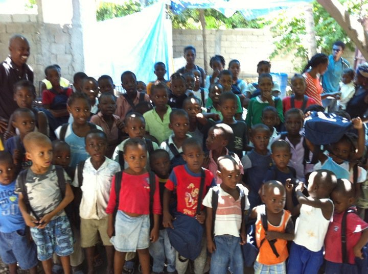 Provide Backpacks to Children Affected by Disaster