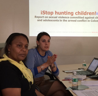 Stella Duque Cuesta shares findings from report