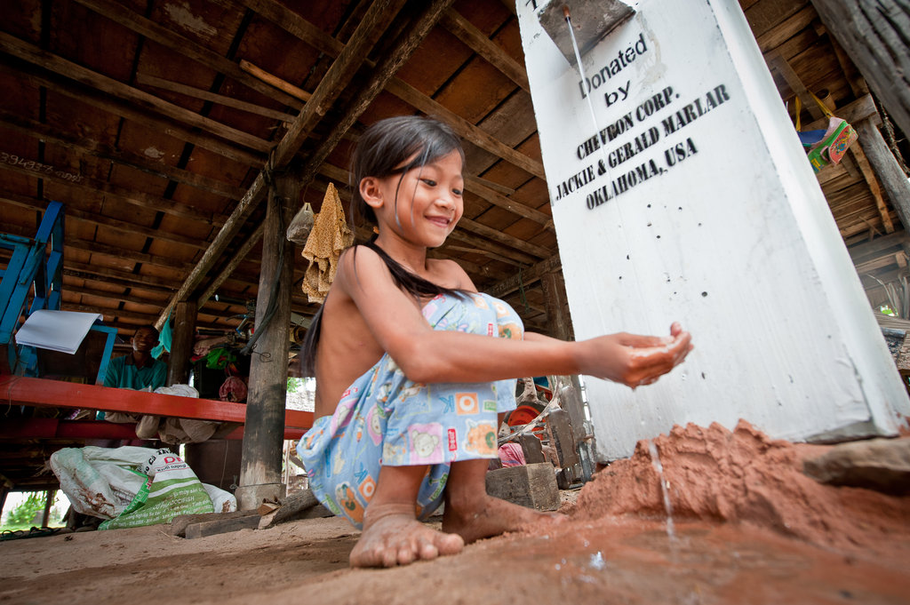 Clean water for hundreds of villagers in Cambodia