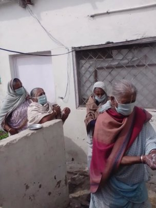 Widow Mothers Prepare to face the pandemic
