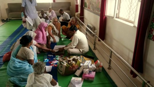Health checkup at Maitrighar