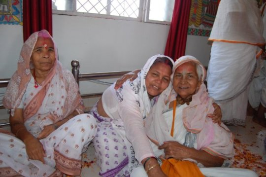 Widows share love and joy during Holi festival
