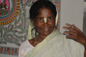 One of the resident widows at Maitri Ghar