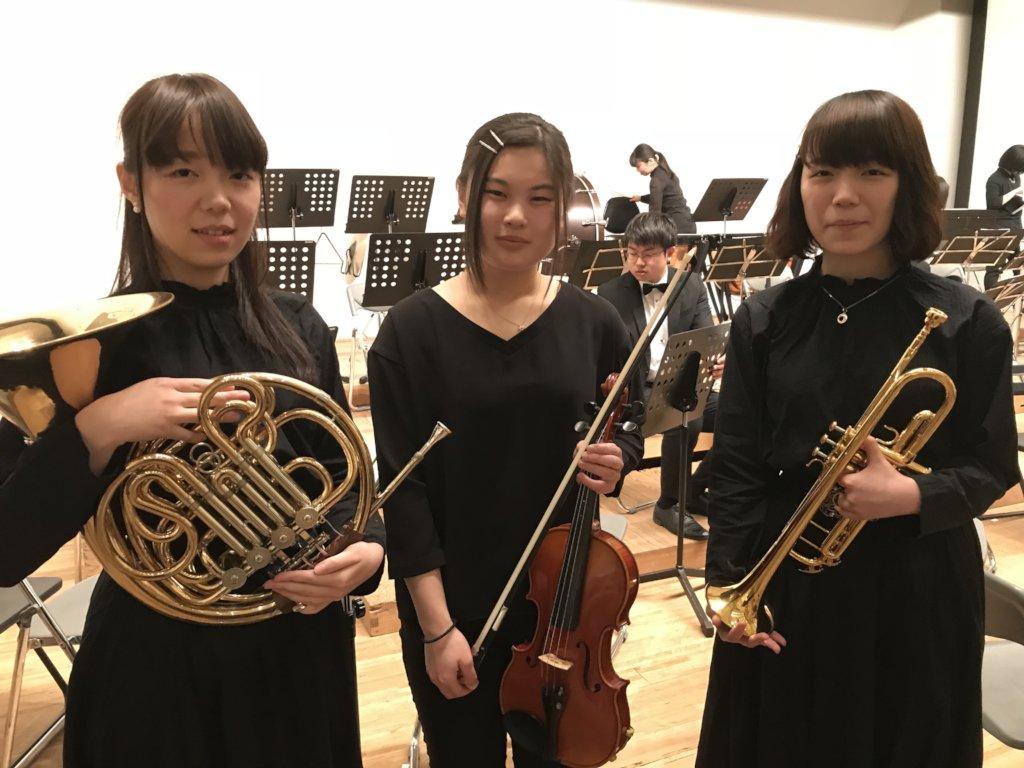 Haruka, Runa and Momoka