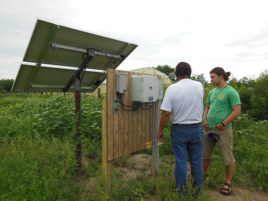 Solar powers our water supply!