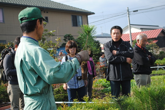 Forestry Training Session in Fukushima