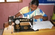 Sewing machine to earn income