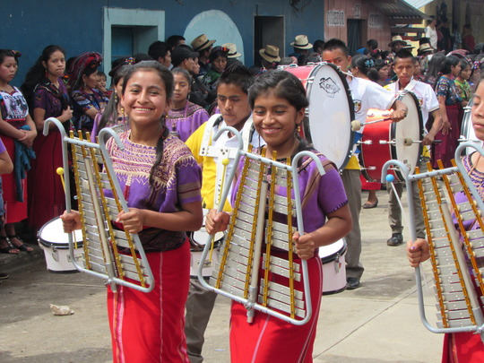 Our youth celebrate Ixil culture
