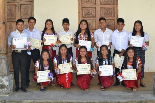 LHI's 2019 middle school graduates.