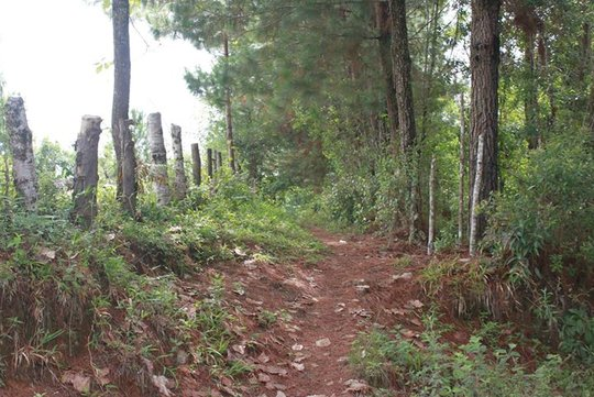 We hiked the beautiful countryside of Chajul.