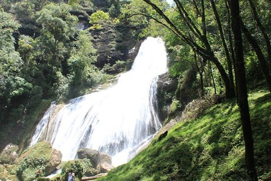 The incredible Chichel waterfall