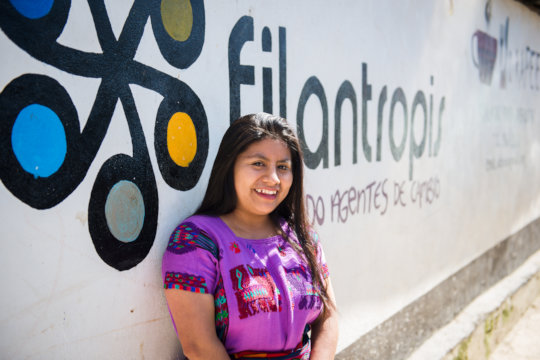 Elisia is proud to give back to her community
