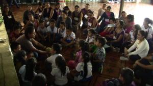 Teaching the Magic Classroom way in a local school