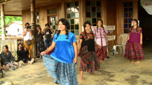 Groups presented skits on hometown traditions