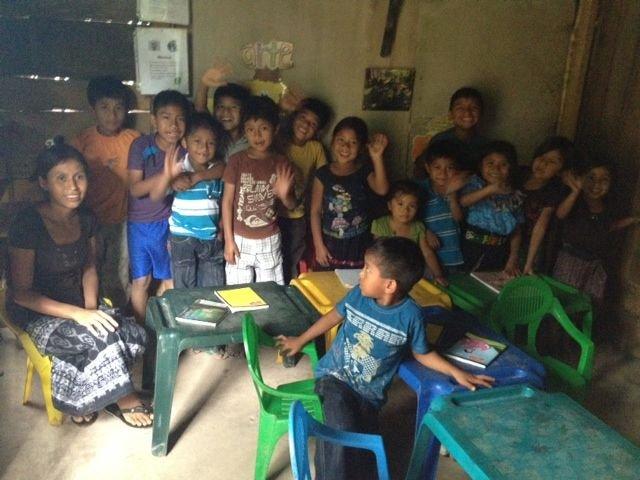 Facilitator at Pacamache, Guatemala