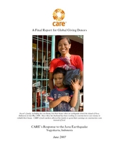 CARE's Response to the Java Earthquake  (PDF)