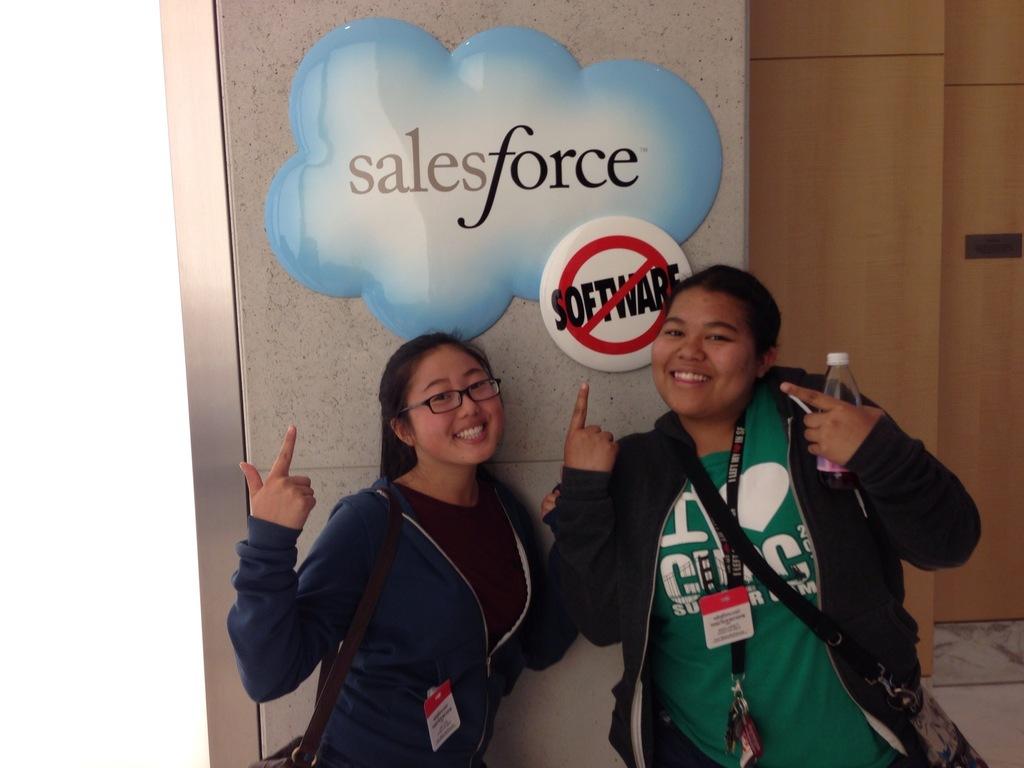 Oasis Girls at Salesforce