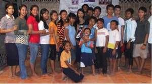 Children on Dance Stage